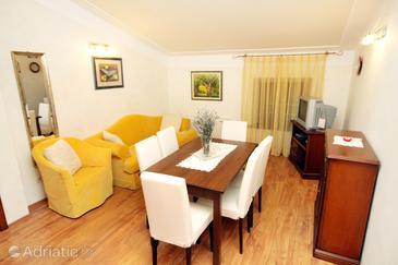 Pilkovići, Obývací pokoj v ubytování typu apartment, dostupna klima, dopusteni kucni ljubimci i WIFI.