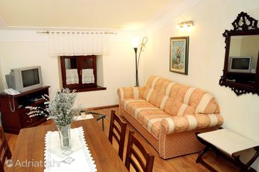 Pilkovići, Wohnzimmer in folgender Unterkunftsart apartment, dopusteni kucni ljubimci i WIFI.