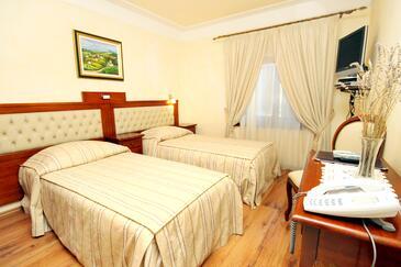 Pilkovići, Ložnice v ubytování typu room, dostupna klima, dopusteni kucni ljubimci i WIFI.