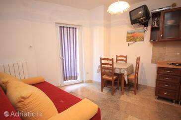 Rovinj, Jadalnia w zakwaterowaniu typu apartment, WiFi.