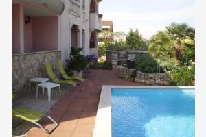 Apartamente cu piscină potrivite pentru familiile cu copii Rovinj - 3394