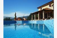 Дом для семьи с бассейном Kožljak (Središnja Istra) - 3399