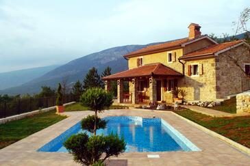 Kožljak, Središnja Istra, Property 3399 - Vacation Rentals with pebble beach.
