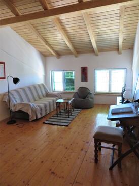 Ždrelac, Dnevna soba 1 v nastanitvi vrste house, Hišni ljubljenčki dovoljeni in WiFi.