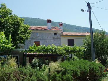 Vozilići, Labin, Property 3400 - Vacation Rentals with pebble beach.