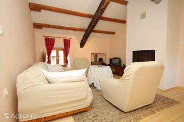 Šumber, Living room in the apartment, dostupna klima, dopusteni kucni ljubimci i WIFI.