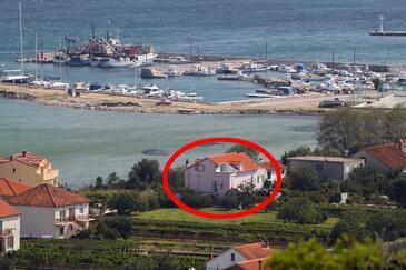 Tkon, Pašman, Obiekt 341 - Apartamenty przy morzu z piaszczystą plażą.