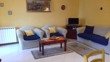 Veprinac, Living room in the apartment, WiFi.