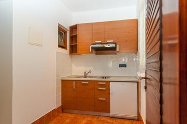 Mali Lošinj, Kitchen in the studio-apartment, WIFI.