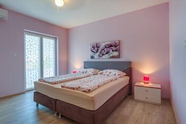 Mali Lošinj, Spálňa v ubytovacej jednotke room, klimatizácia k dispozícii a WiFi.
