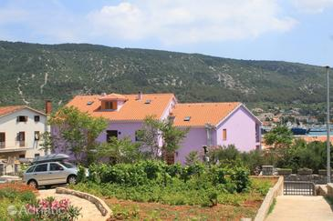Cres, Cres, Property 3448 - Rooms near sea with pebble beach.