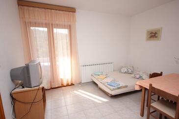 Mala Lamjana, Pokój dzienny w zakwaterowaniu typu apartment, WIFI.