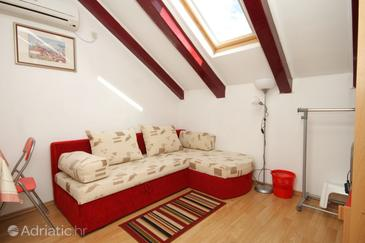 Slano, Living room in the apartment, dostupna klima, dopusteni kucni ljubimci i WIFI.