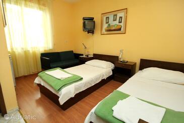 Dubrovnik, Dormitor în unitate de cazare tip room, aer condiționat disponibil, animale de companie sunt acceptate şi WiFi.