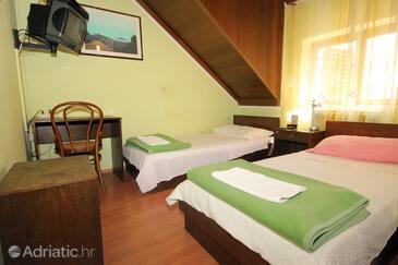 Dubrovnik, Спальня в размещении типа room, доступный кондиционер, Домашние животные допускаются и WiFi.