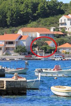 Lumbarda, Korčula, Objekt 3554 - Ubytovanie blízko mora.