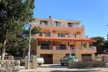 Mandre, Pag, Property 3557 - Apartments and Rooms near sea with pebble beach.