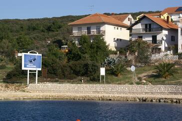 Sveti Petar, Biograd, Objekt 358 - Ubytování v blízkosti moře s oblázkovou pláží.