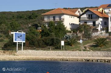 Sveti Petar, Biograd, Объект 358 - Апартаменты вблизи моря с галечным пляжем.