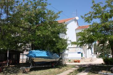 Turanj, Biograd, Property 364 - Apartments near sea with pebble beach.