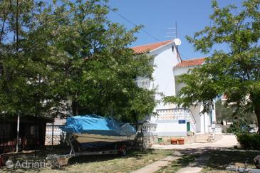 Turanj, Biograd, Property 364 - Apartments near sea with pebble beach.