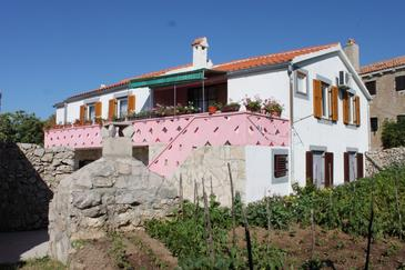 Stivan, Cres, Property 382 - Apartments with pebble beach.