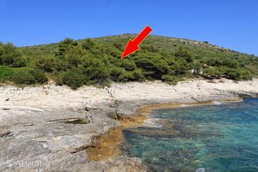 Ripišće, Dugi otok, Objekt 394 - Kuća za odmor blizu mora.