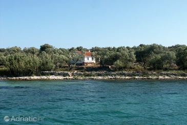 Krknata, Dugi otok, Property 397 - Vacation Rentals near sea with rocky beach.