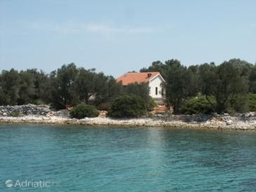 Krknata, Dugi otok, Property 399 - Vacation Rentals near sea with rocky beach.