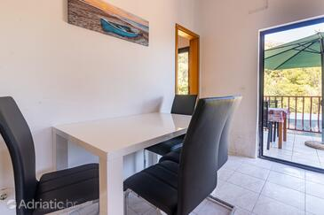 Jagodna, Dining room in the apartment, (pet friendly) and WiFi.