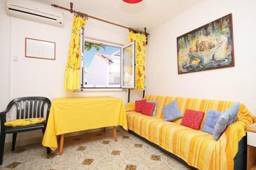 Hvar, Dnevna soba v nastanitvi vrste apartment, dostopna klima in WiFi.