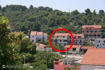 Hvar, Hvar, Property 4006 - Apartments with pebble beach.