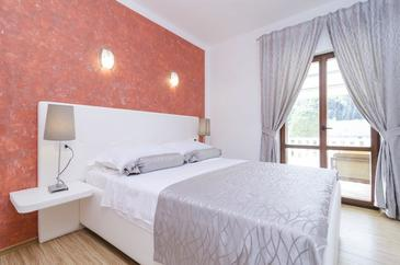 Saplunara, Ložnice v ubytování typu room, dostupna klima i WIFI.