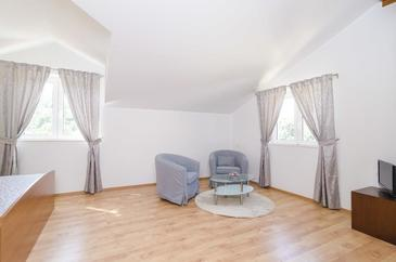Saplunara, Living room in the room, dostupna klima i WIFI.