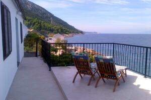 Seaside secluded apartments Cove Virak	 bay - Virak (Hvar) - 4035
