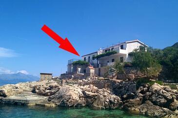 Virak, Hvar, Objekt 4035 - Apartmani blizu mora sa šljunčanom plažom.