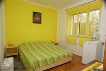 Jelsa, Sypialnia w zakwaterowaniu typu room, WIFI.