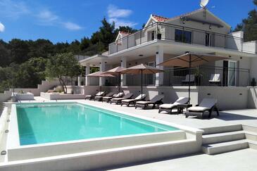 Mudri Dolac, Hvar, Hébergement 4050 - Appartement à proximité de la mer.