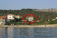 Apartments by the sea Jakišnica (Pag) - 4054