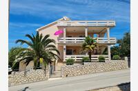 Apartments with a parking space Lun (Pag) - 4062