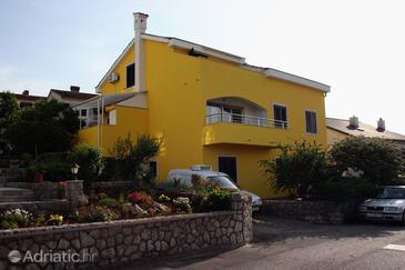 Njivice, Krk, Property 407 - Apartments with pebble beach.