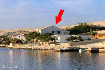 Kustići, Pag, Property 4079 - Apartments by the sea.