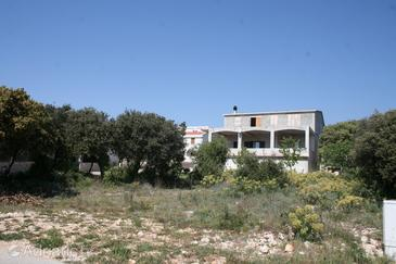 Mandre, Pag, Property 4085 - Apartments with pebble beach.