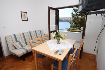 Stara Novalja, Dining room in the apartment, WIFI.