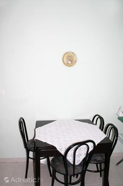 Mandre, Dining room in the apartment, dopusteni kucni ljubimci.