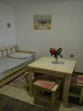 Stara Novalja, Столовая в размещении типа apartment, доступный кондиционер, Домашние животные допускаются и WiFi.