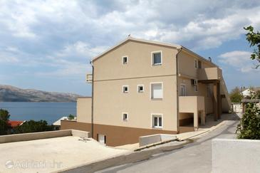 Metajna, Pag, Property 4116 - Apartments with sandy beach.