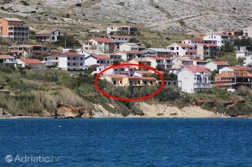 Pag, Pag, Objekt 4119 - Ubytování v blízkosti moře.