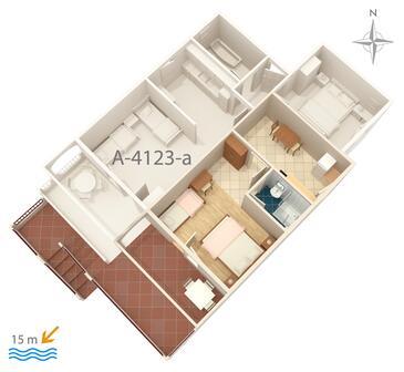 Chorvatsko ubytov n apartm ny for Apartment wifi plans