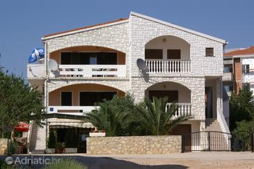 Novalja, Pag, Property 4128 - Apartments with pebble beach.